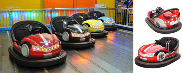 Fairground Electric bumper cars